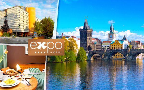 Dovolená v Praze v luxusním hotelu Expo!