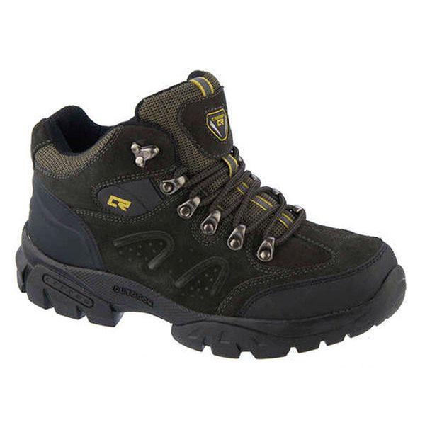Pánské tmavé outdoorové boty Crosby