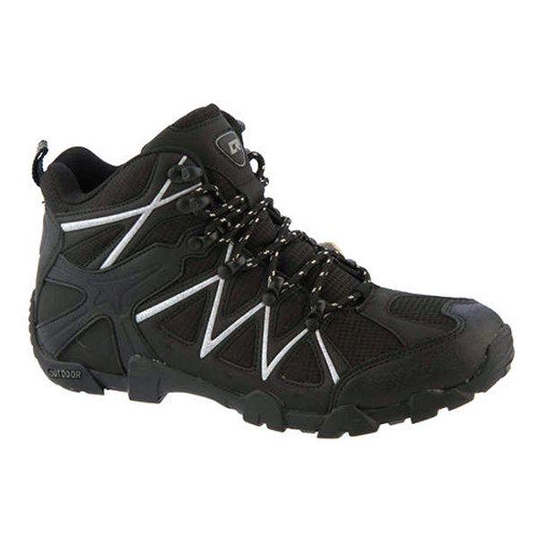 Pánské černé outdoorové boty Crosby
