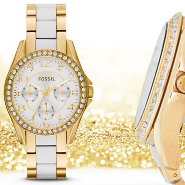 Luxusní dámské hodinky značky FOSSIL s doručením zdarma