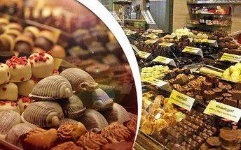 Čtvrt kila nejlepších belgických pralinek a lanýžů
