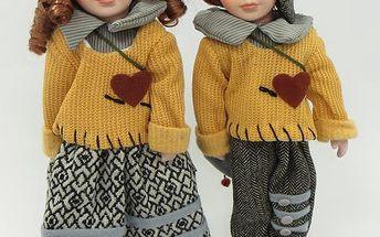 Porcelánová panenka Jane a Oliver 40cm