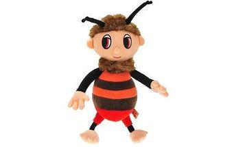 Oblíbený český zpívající plyšový včelí medvídek Brumda