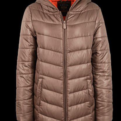 Delší dámská bunda vhodná na zimu Authentic