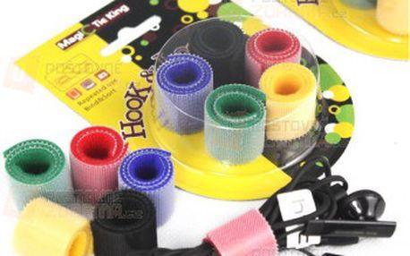 Stahovací pásky se suchým zipem a poštovné ZDARMA! - 30314221