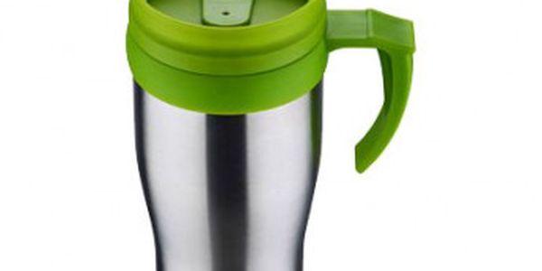Termohrnek 400 ml zelená RENBERG RB-3019zele