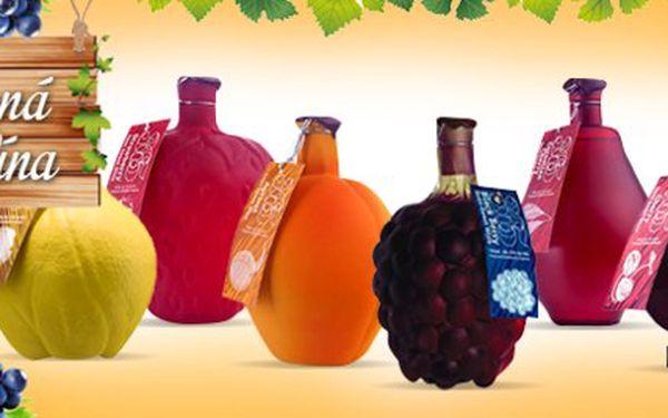 Exkluzivní ovocná vína s obsahem alkoholu