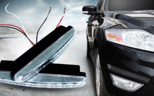 LED diodová světla pro denní svícení auta s doručením ZDARMA! Ideální řešení celodenního svícení!