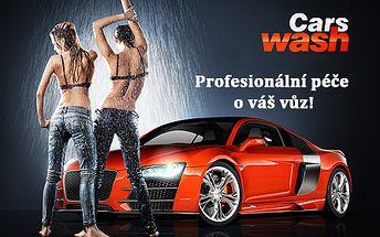 Šetrné RUČNÍ MYTÍ auta a TEPOVÁNÍ INTERIÉRU profesionální autokosmetikou 3M, Sonax a Riwax! Dokonale čisté auto zvenku i zevnitř díky týmu profesionálů. Nejdůkladnější mytí vašeho vozu v automyčce WashCars!!!