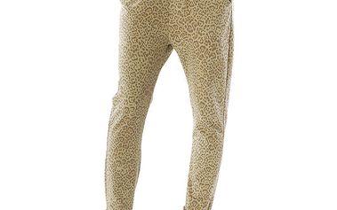 Dámské kalhoty s leopardím vzorem Silvana Cirri