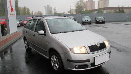 Škoda Fabia 1.4 16V, klimatizace
