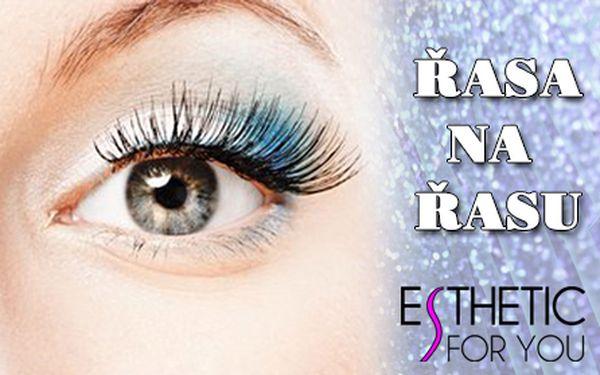 Profesionální PRODLOUŽENÍ ŘAS metodou řasa na řasu od zkušených kosmetiček ze salonu Esthetic For You na Andělu! Využijte slevu i na doplnění řas po základní aplikaci! Mějte výrazné oči a svůdný pohled i bez líčení!!