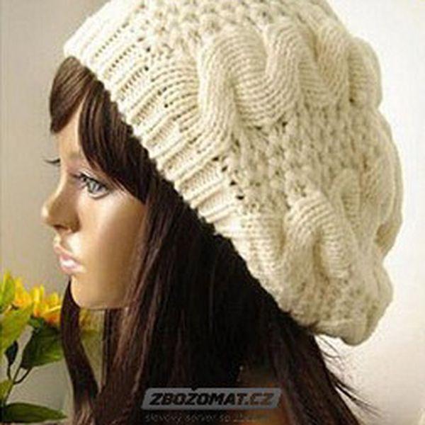 Pletená čepice Fai v moderním stylu!