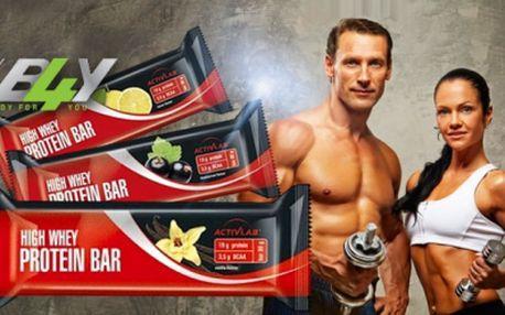 Proteinová tyčinka High Whey! Oblíbený doplněk NEJEN pro sportovce s vysokým obsahem bílkovin!