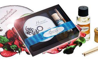 149 Kč za relaxační sadu vč. poštovného! Vůně moře, vanilky, květin!