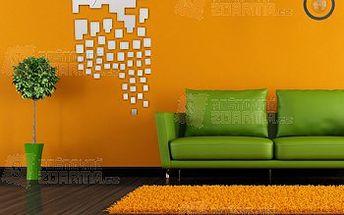 Stylové nalepovací hodiny na zeď a poštovné ZDARMA! - 9999914318
