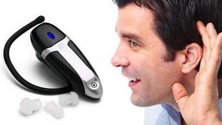 Pohodlný zesilovač zvuku Ear Zoom s vestavěným mini mikrofonem