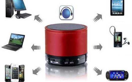 Bluetooth reproduktor s MP3 přehrávačem a AUX vstupem pro připojení - model 1