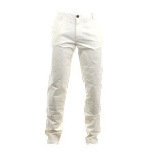Pánské bílé casual kalhoty Aeronautica Militare