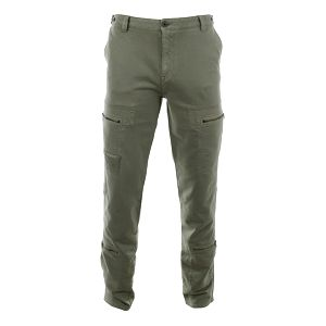 Pánské kalhoty s kapsami na zip Aeronautica Militare