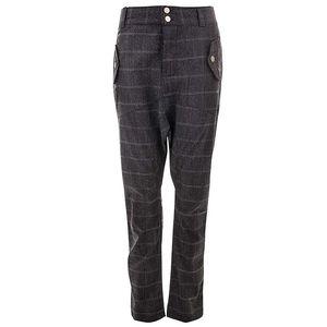 Dámské šedé kalhoty s proužky Purple Jam