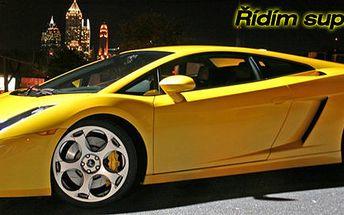 30 minut projížďky v Lamborghini Gallardo