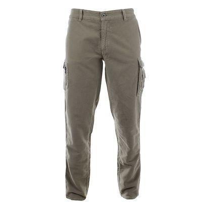 Pánské šedé cargo kalhoty Aeronautica Militare