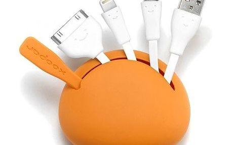 Multifunkční adaptér Spider 2, oranžový, dobijte šťávu kdykoliv a kdekoliv