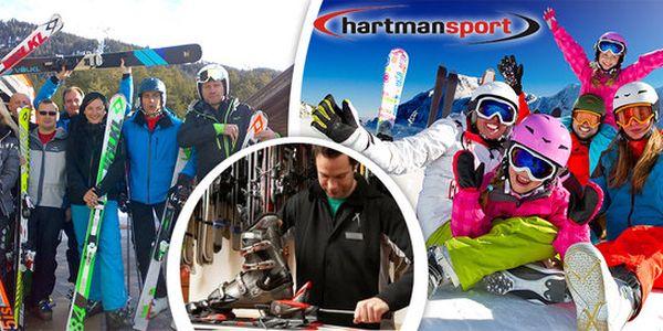 Špičkový servis lyží či snowboardů