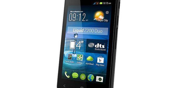 Dotykový mobilní telefon Acer Liquid Z200 Dual Sim