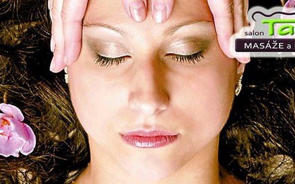 Manuální liftingová masáž obličeje v délce 60 minut