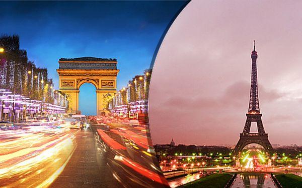 Kouzelná Paříž v období adventu s návštěvou trhů na Champs – Élysées