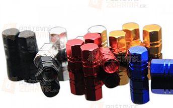 Hliníkové čepičky na ventilky - různé barvy a poštovné ZDARMA! - 31703154