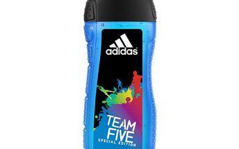 Adidas Sprchový gel na vlasy a tělo pro muže Team Five (Hair & Body Shower Gel) 250 ml