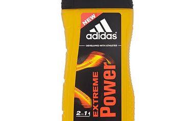 Adidas Sprchový gel a šampon pro muže 2 v 1 Extreme Power (Hair & Body Shower Gel) 250 ml