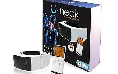 Absolutní bestseller: masážní přístroj U-neck na krční páteř