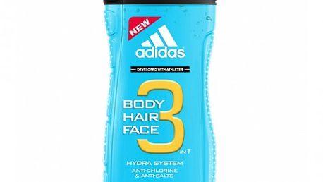 Adidas Sprchový gel na vlasy a tělo pro muže Water Sport (Hair & Body Shower Gel) 250 ml