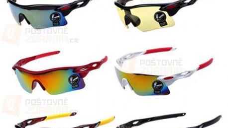 Sportovní brýle - 6 barevných provedení a poštovné ZDARMA! - 9999912208