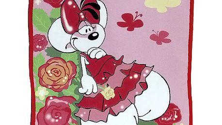 Kvalitní dívčí deka z kolekce Diddlina