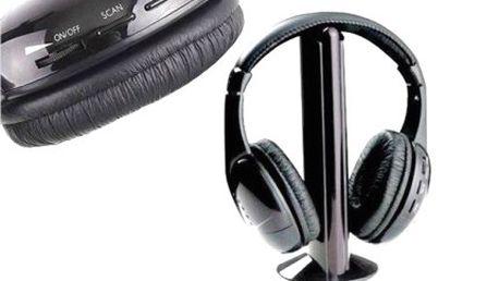 Multifunkční bezdrátová sluchátka 5v1 nebo 8v1!