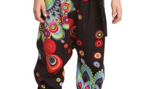 Pestrobarevné dívčí kalhoty Desigual
