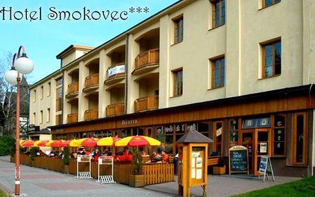 Hotel Smokovec*** pod Slavkovským štítem v centru Vysokých Tater