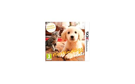 Nintendogs + Cats - Golden Retriever and new Friends 3DS