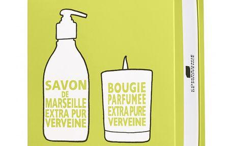 Compagnie de Provence Dárkový box Verbena (mýdlo a svíčka)