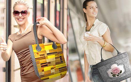 Designová ekologická kabelka Bertoni přes rameno
