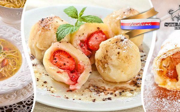 3chodové menu pro dva z tradičních českých jídel