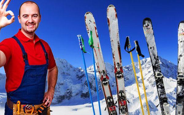 Špičkový servis lyží, běžek i snowboardů