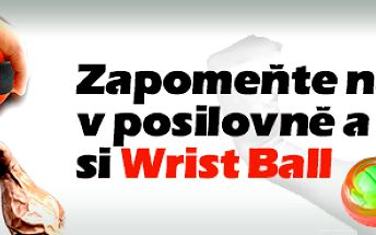 Wrist Ball - posilovací gyroskopická pomůcka