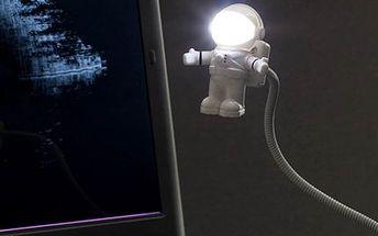 """Originální USB Lampička """"Astronaut"""" se slevou 69 %"""