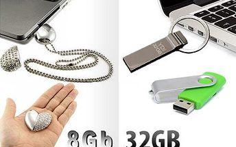 Výběr ze tří druhů USB flash disků